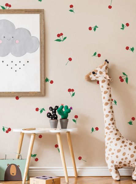 Cherry Fruit Wall Decal - Scheme A