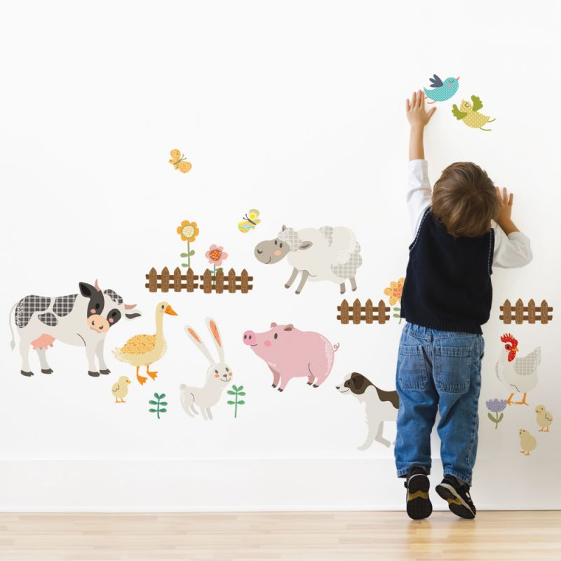 Farm Animals Wall Sticker for kids