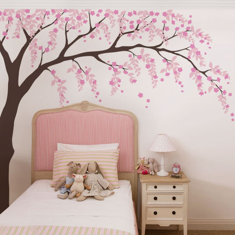 Willow Tree Wall Decal - Scheme A