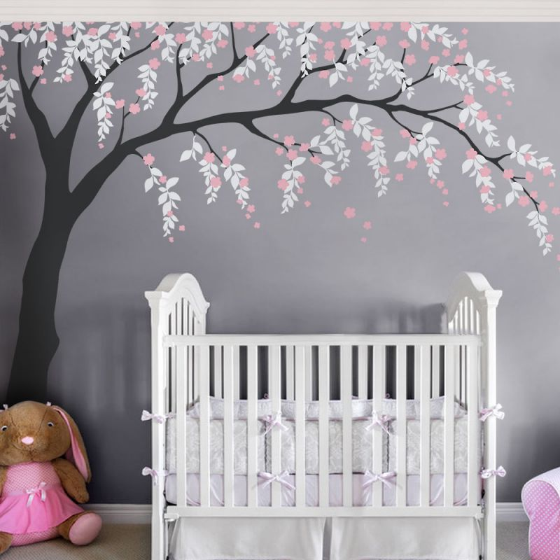 Weeping Willow Tree Decal