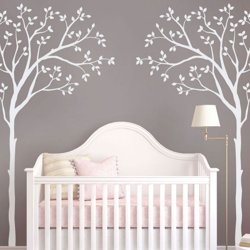 Tree Crib Wall Decal