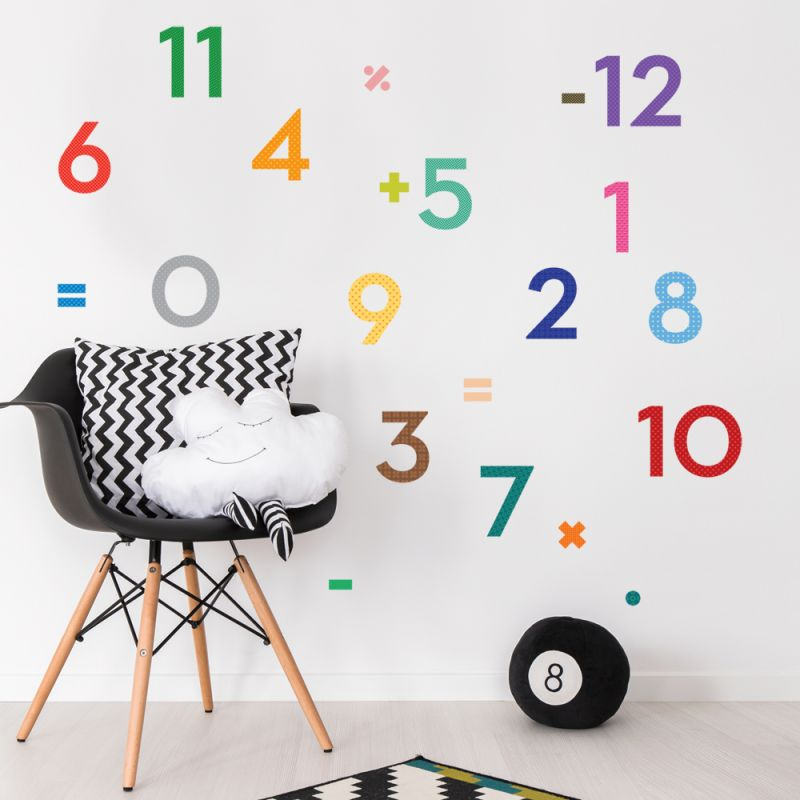 Kids Learning Wall Decal