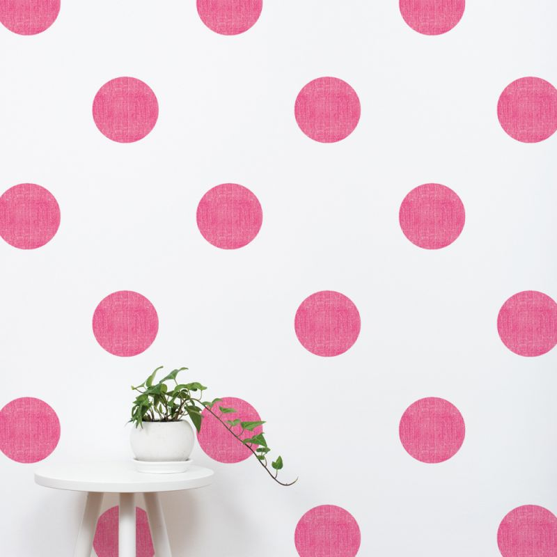 Textured Dots Wall Stickers