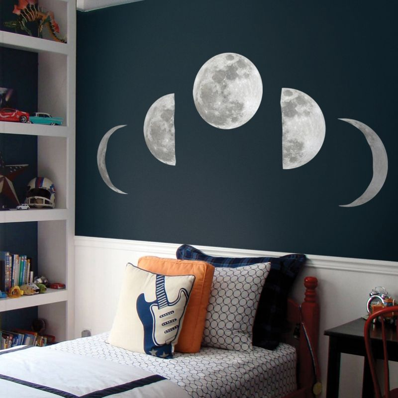 Moon Phases Wall Sticker