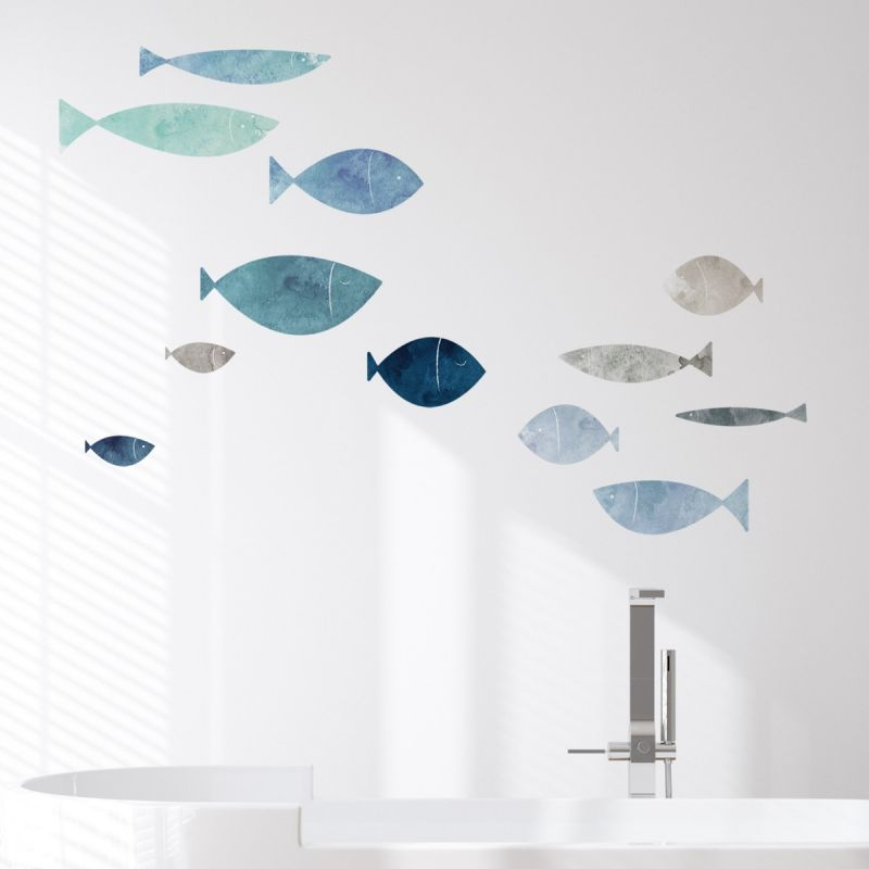 School of Fish Wall Stickers