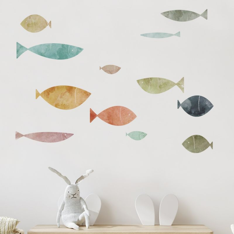 School of Fish Wall Stickers - Summer Sands