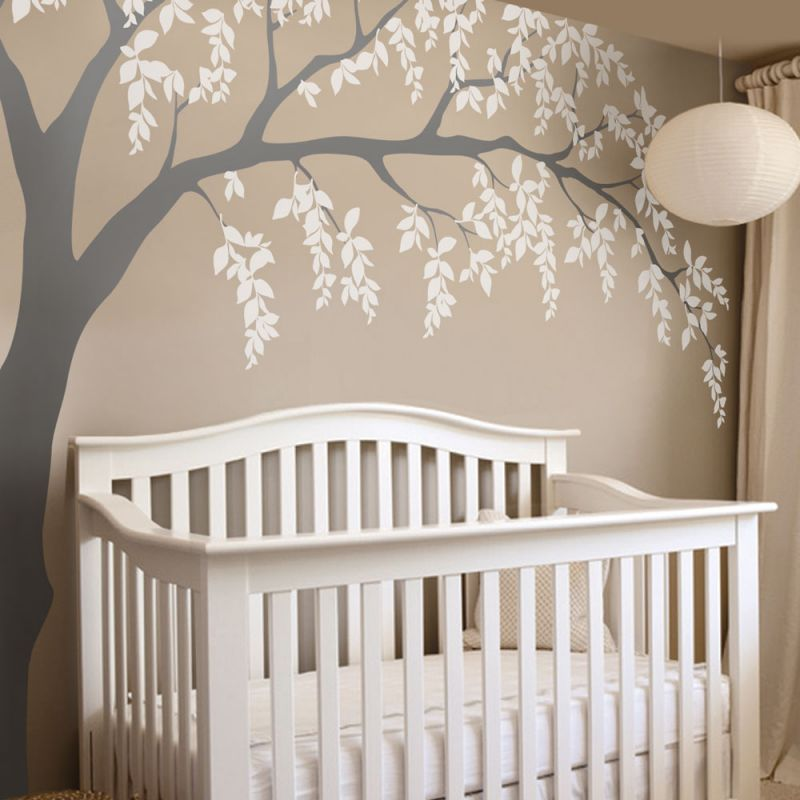 Weeping Willow Tree Wall Decal
