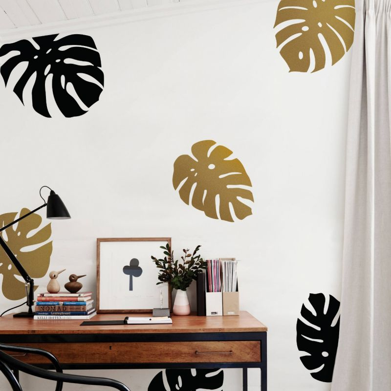 Monstera Leaves Wall Decal - Scheme A