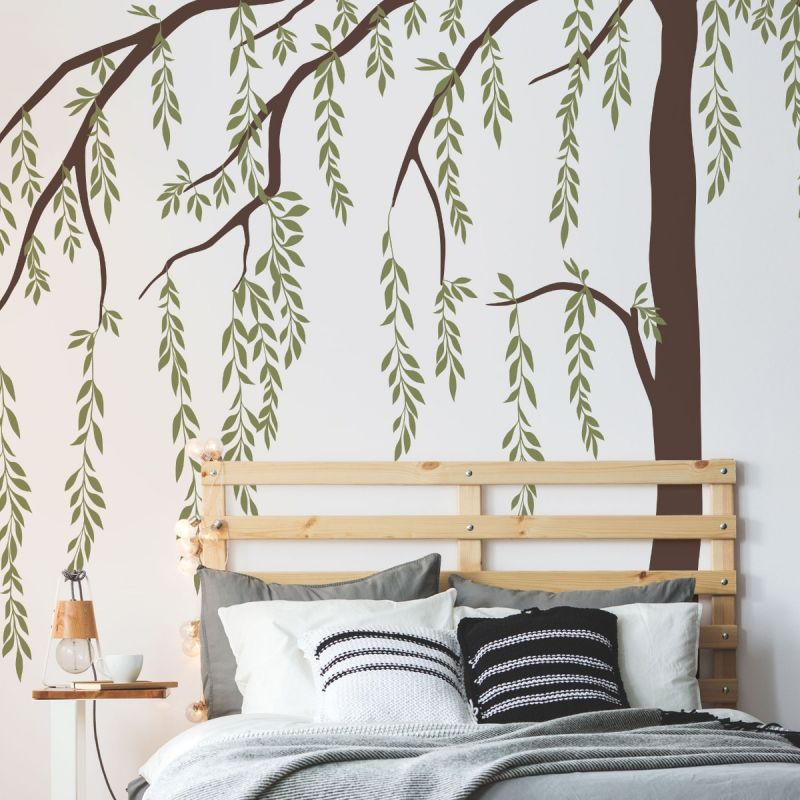 Leafy Weeping Willow Tree - Scheme A