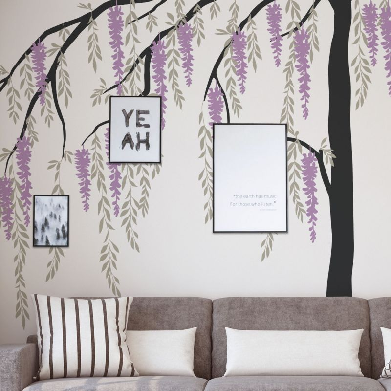 Wisteria Weeping Tree - Scheme A