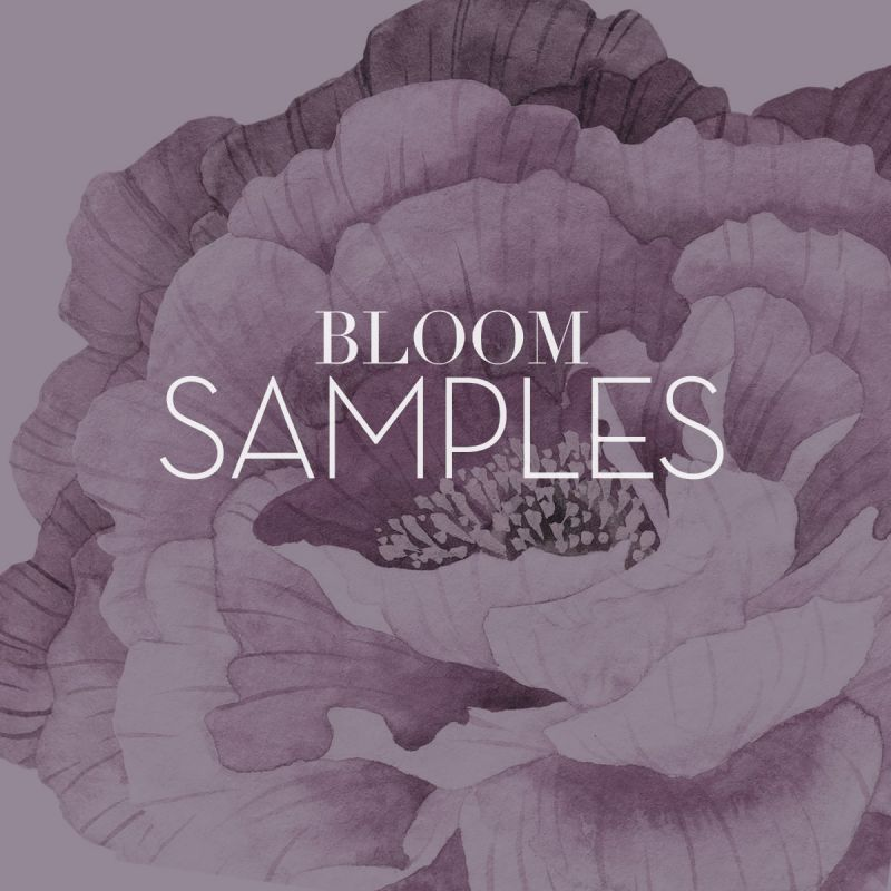 Bloom Wall Stickers - Sample Swatches