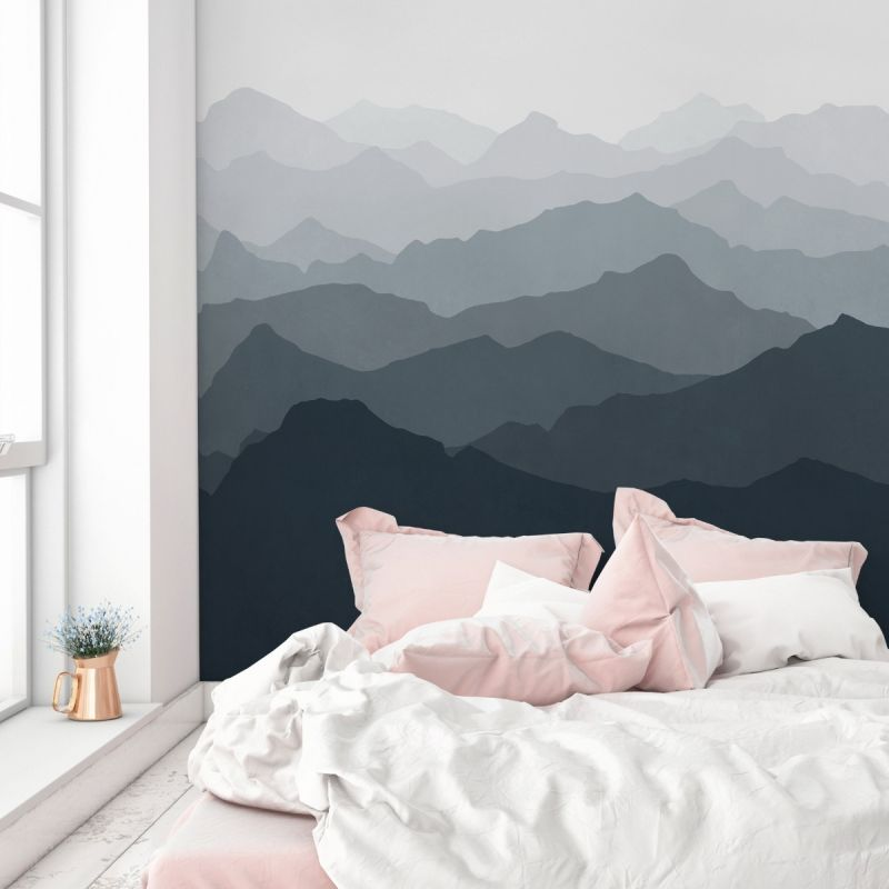 Mountain Mural Wall Art Wallpaper