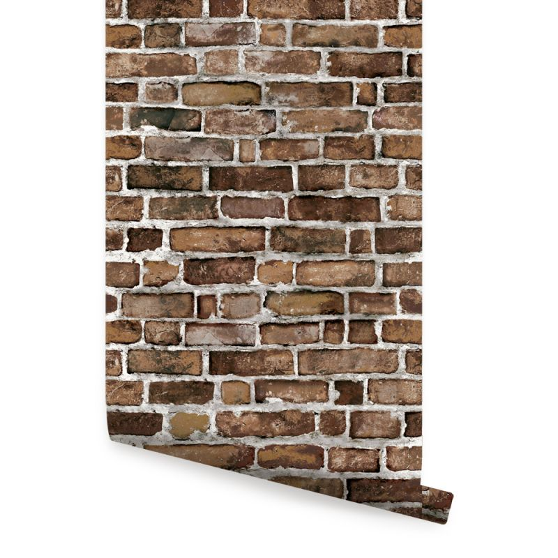 Brown Brick Wallpaper