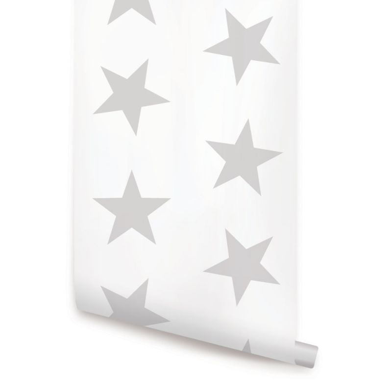 Star Wallpaper - Grey