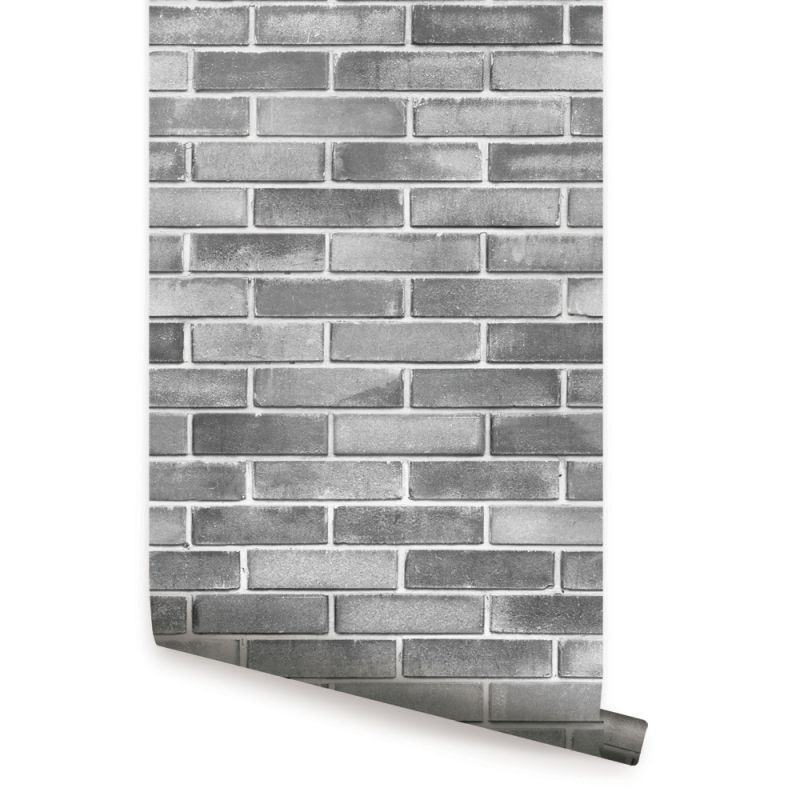 Cement Brick Peel and Stick Wallpaper