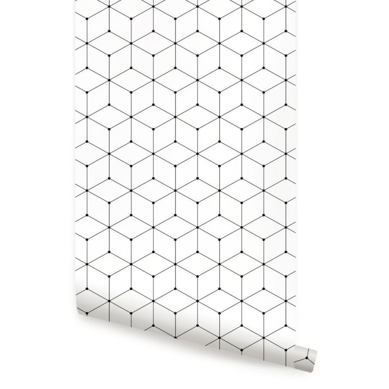 Geometric Cube Wallpaper