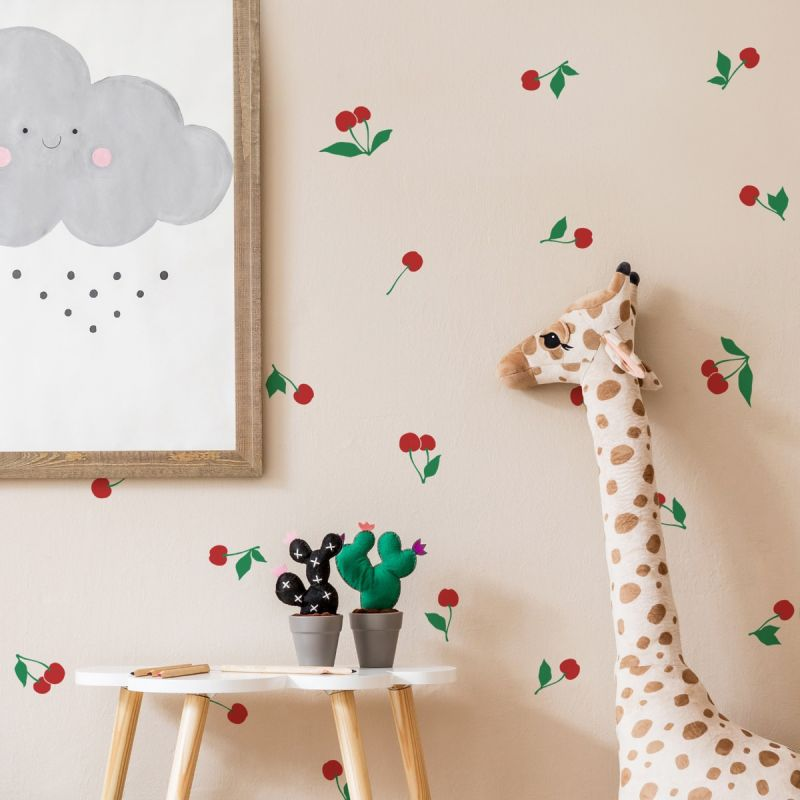 Cherry Fruit Wall Decal