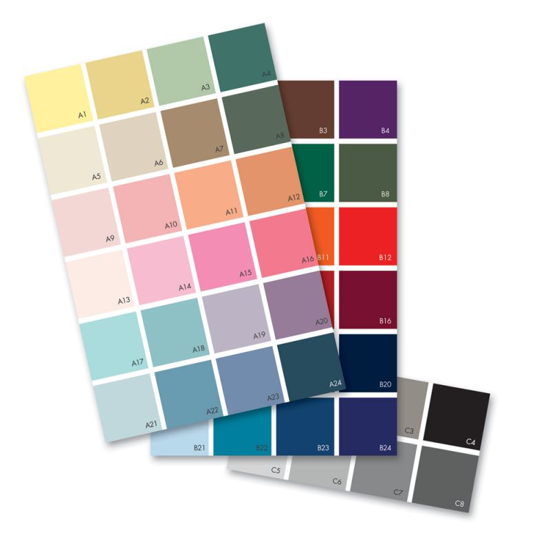 Wallpaper Custom Color Chart - Sample Swatches