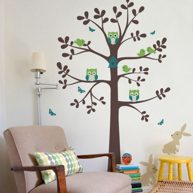 Birds and Branches Wall Decal