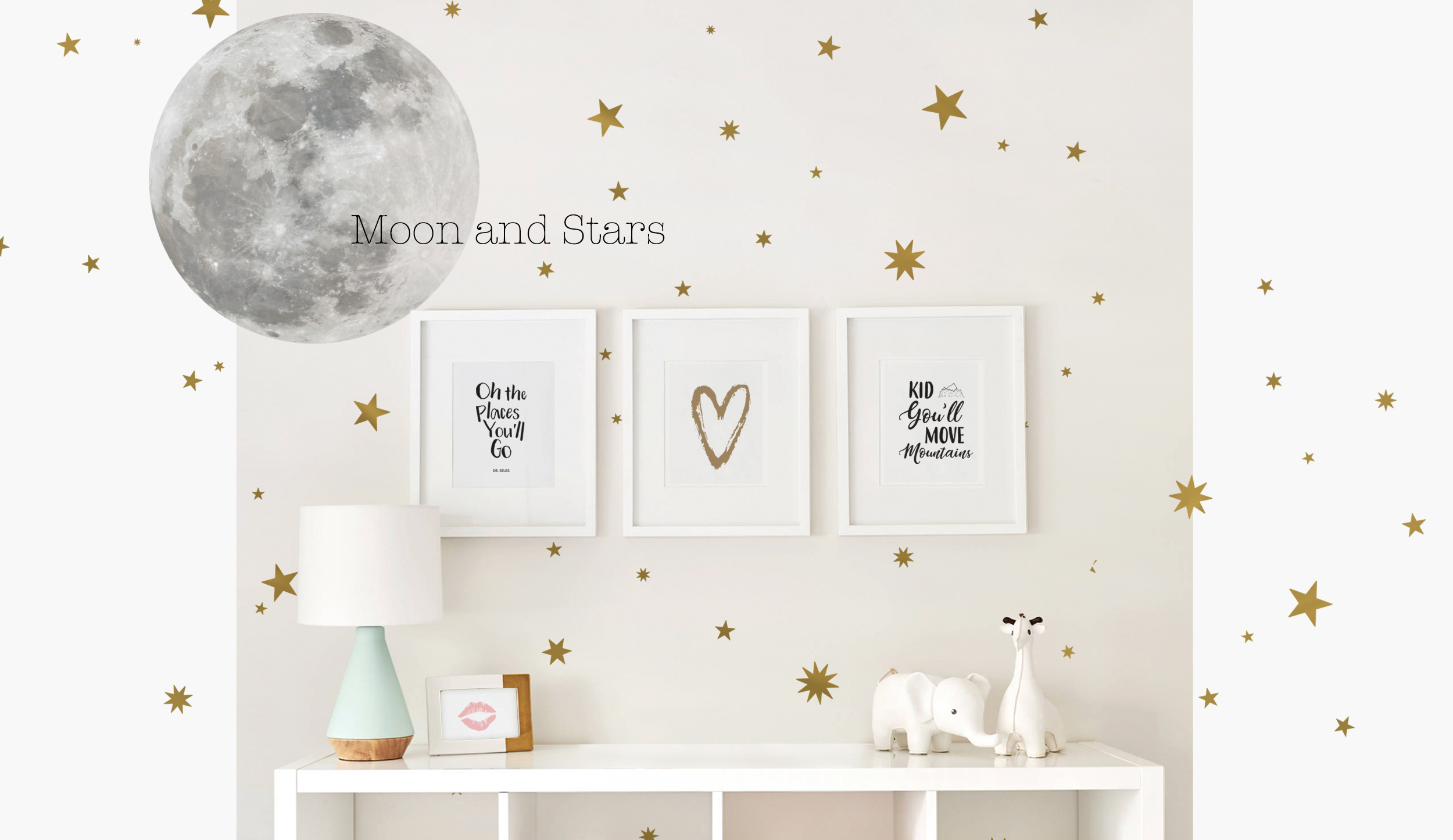 Simple Shapes Wall Decals Wall Stickers And Wallpaper